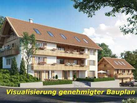 5 Familienhaus, 495 m² Wfl. und 7 Wohneinheiten genehmigt, Nähe Murnau, Bergblick.