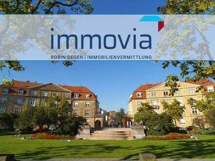 Denkmalschutz Highlight im Karlsruher Musikerviertel - EG mit Garten!