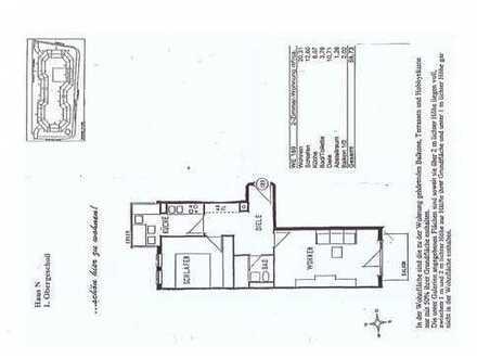 Stilvolle 2-Zimmer-Wohnung mit Balkon und Einbauküche in Fürstenfeldbruck