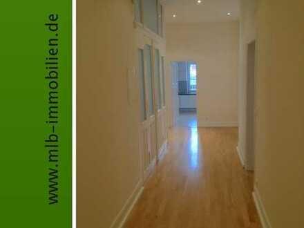 Bockenheim: Stilvolle 3 Zimmer-Altbau-Wohnung, hochwertig saniert mit EBK und Tiefgarage