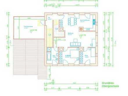 Helle geräumige 2-Zimmer-LOFT-Wohnung mit gehobener Innenausstattung in Walleshausen