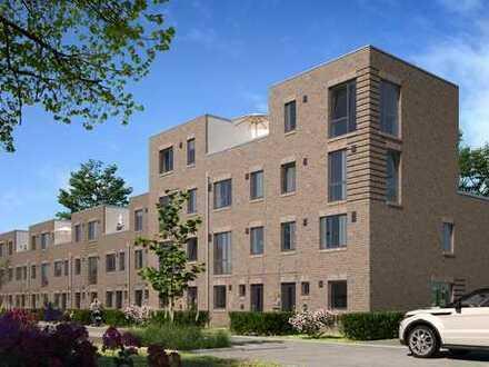 175 m² Eckhaus: Neubau im KfW-55-Standard mit großer Süd-Dachterrasse - Eigene Grundrisse möglich!