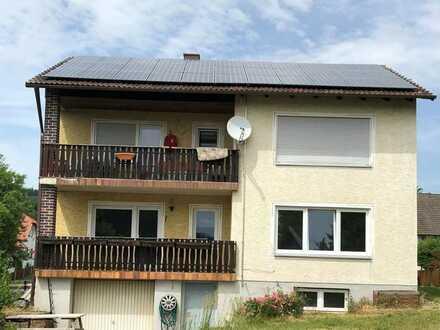 4-Zimmer-Wohnung mit Balkon u. Einbauküche in Schnaittenbach, Haustiere erlaubt