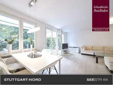 Attraktive, helle und hochwertig möblierte 3 Zi. Mietwohnung mit Terrasse, Stellplatz +++