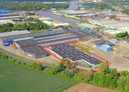 Deverhafen - Lager- / Produktionshalle mit Büros zu vermieten