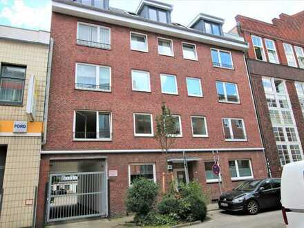 Vermietete Eigentumswohnung mit Wintergarten und Balkon in St. Georg