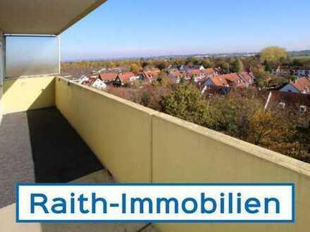 Sofort bezugsfrei! 4 Zi. Wohnung mit schönem Balkon in Augsburg Hochzoll-Süd
