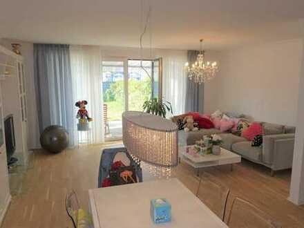 Komplett möbliertes familienfreundliches REH, Garten, Garage in gefragter Lage von MB-Büderich