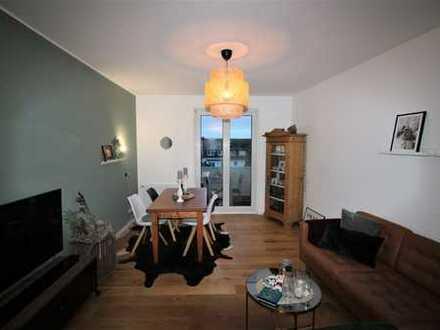 GOLZHEIM: Schön geschnittene, vermietete 3 Zimmer-Wohnung mit Balkon