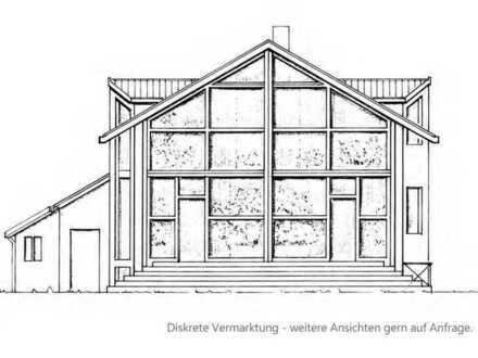 Dicht Messelpark, in malerischer Wohnstraße: Architektenhaus in 1a-Lage von Berlin-Dahlem
