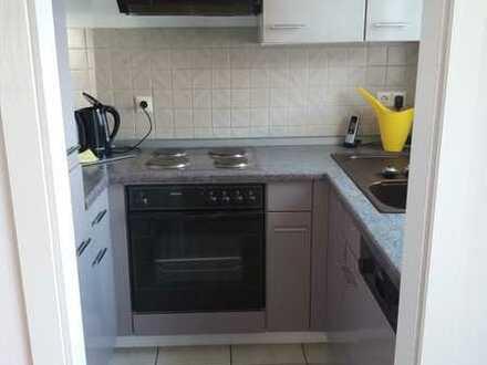 Gepflegte 2-Raum-Wohnung mit Balkon und Einbauküche in Bayreuth