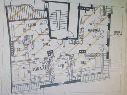Schöne 4-Zimmer-DG Wohnung