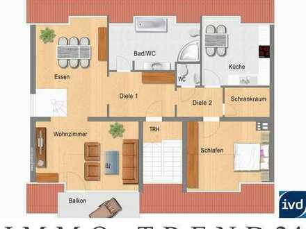++ Dachgeschoss-Maisonette-Wohnung in Köln-Niehl ++
