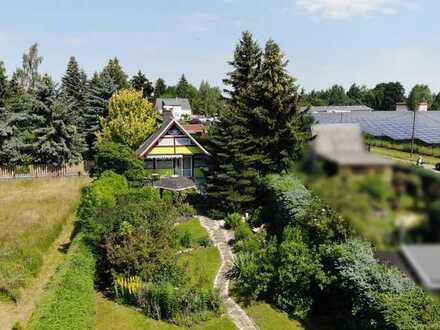 Herrliches Gartengrundstück mit massivem Gartenhaus & Carport in Niederwürschnitz bei Chemnitz