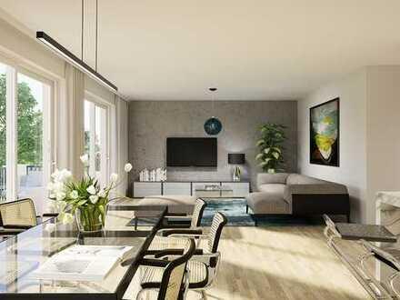 Nachhaltige Penthousewohnung mit grandioser Dachterrasse in wunderschöner Naturlage