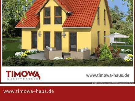 *** Neubauprojekt - Grundstück in Randlage, bebaut mit einem modernen Einfamilienhaus ***