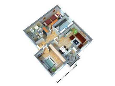 Erstbezug nach Komplettsanierung - ruhige, helle 3-Zimmerwohnung sucht Nachmieter