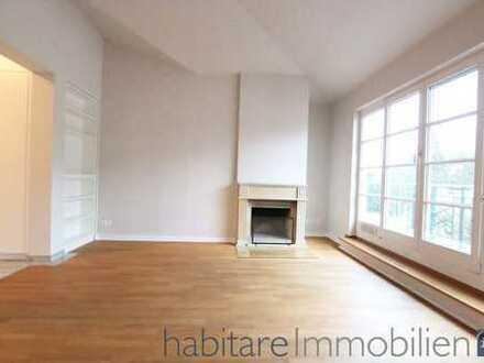 Eindrucksvolles Penthouse mit Lift, Kamin und 6 Terrassen - Toplage Schlachtensee/Kaiserstuhlstraße!