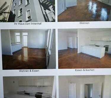 Stilvolle und sanierte Altbauwohnung, 4-Zimmer mit Balkon und EBK in Kumpfmühl/Regensburg