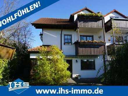 Idyllische 3-Zimmer-Gartenwohnung in Ortsrandlage Aschheim