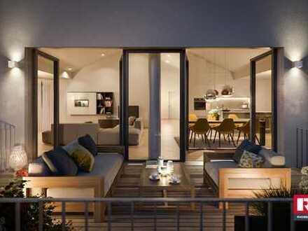 3,5 Zimmer, 84,88 m² Wfl. und zzgl. großer Terrasse und kleinem Gartenanteil