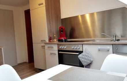 Vollmöblierte 1-Zimmer-Dachgeschosswohnung in Deißlingen