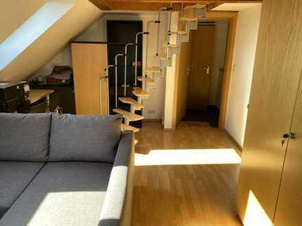 Attraktive 1-Zimmer-Dachgeschosswohnung mit EBK in Chemnitz
