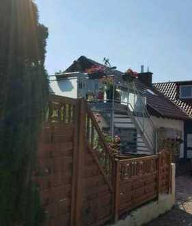 Voll möblierte süße Dachgeschosswohnung