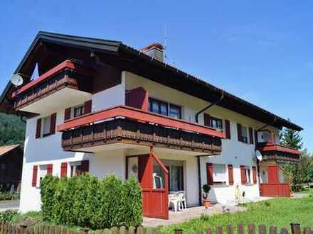 Südbalkon - Ruhige gelegene 2 - Zi. - Wohnung mit herrlichem Blick zwischen Alpsee und Oberstaufen