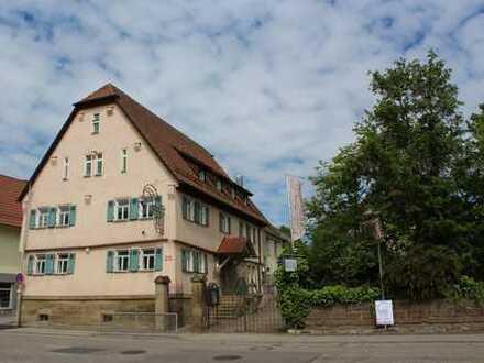 Historisches Wohn- / Geschäftshaus mit Gaststätte und Biergarten