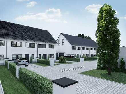 Neubau Reiheneckhaus in Castrop-Rauxel. 124 m² Wohnfläche inklusive Dachgeschossausbau.