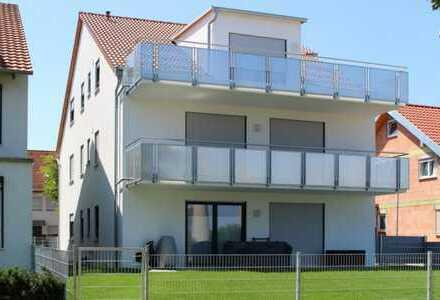 4 Zimmer Wohnung EG, 3-Familienhaus Bj 2018, alleinige Gartennutzung, große Terrasse