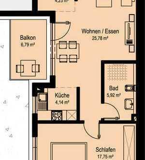 NEUBAU Schöne 2-Zimmer-Wohnung in Dörzbach (W6)