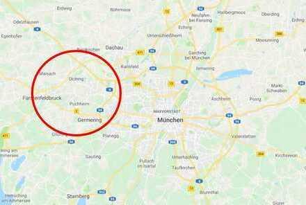 Wohnanlage im Westen von München