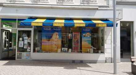Gepflegtes Ladenlokal in der Fußgängerzone...