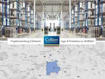 Projektentwicklung | Lager & Poduktion | ca. 40.800 m² Grundstück | Delitzsch