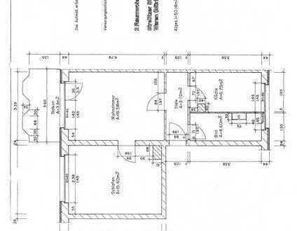 Zwei-Raum-Wohnung in Waren (Müritz)