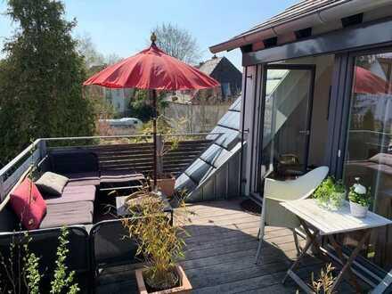 Exklusive, neuwertige 4-Zimmer-Maisonette-Wohnung am Galgenberg mit Dachterrasse