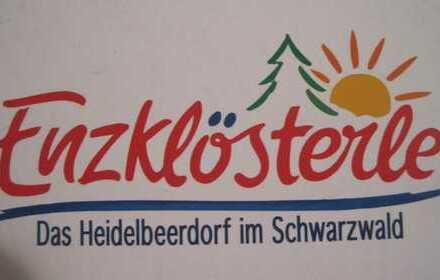 Sonnige Ferienwohnung oder fester Wohnsitz 2-Zimmer Wohnung in Enzklösterle Nordschwarzwald