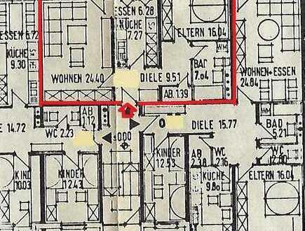 vermietete 2 Zimmer Wohnung in Bad Mingolsheim