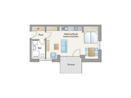 """""""Am Kinoberg"""", Röthenbach: Kompakte 1-Zimmer-Wohnung mit Terrasse!"""