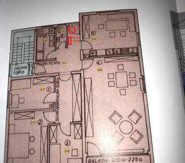 Erstbezug nach Sanierung mit Balkon: ansprechende 5-Zimmer-Wohnung in Maikammer