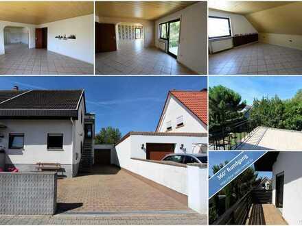 4-Zimmer-Wohnung mit Terrasse, Balkon, Garage und 2 Stellplätzen