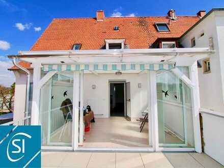 Wohnen wie im Neubau... seniorengerechte Mietwohnung mit Wintergarten und XXL-Balkon
