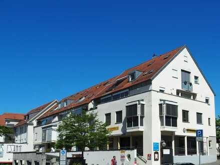 Schicke 3-Zimmer Wohnung mit einmalig umlaufender Terrasse in der Innenstadt