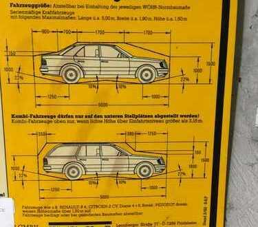 Stellplatz/Tiefgarage/Doppelparker oben