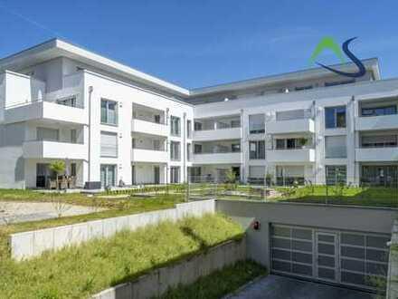 Sofort bezugsfrei! - Neubau Erdgeschosswohnung mit zwei Terrassen - KFW 55