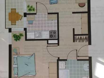 2-Zimmer-Senioren-Wohnung in Waldkirch mit Betreuung