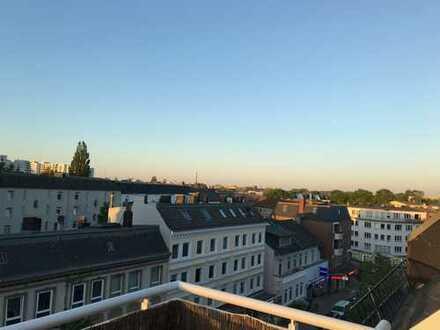 kleine Penthousewohnung in Eimsbüttel