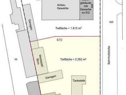 Wohnbaugrundstück mit Planung in zentraler Lage